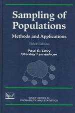 Sampling of populations : methods and applications