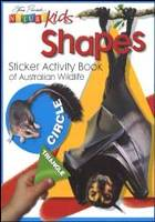 SHAPES STICKER ACTIVITY BOOK O
