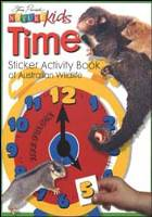 TIME STICKER ACTIVITY BOOK OF