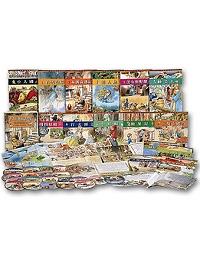 世界經典童話選集(全套20冊書+20片故事CD)
