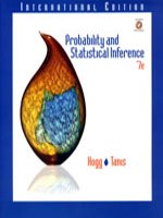 Probability and statistical inference /