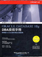 Oracle Database 10g DBA技術手冊