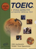 TOEIC : full-length authentic official test ; 200 authentic TOEIC test questions