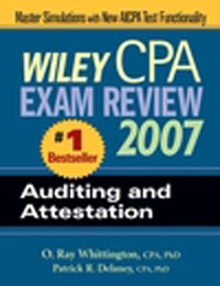 Wiley CPA exam review 2007.