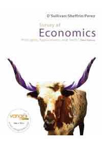 SURVEY OF ECONOMICS: PRINCIPLES AND TOOLS 3 E