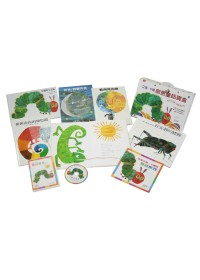 艾瑞.卡爾創意童話寶盒(5本經典圖畫書+1片故事動畫DVD+1本名家導讀手冊)