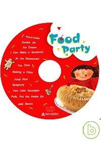Food Party 食物派對合輯^(無書,附CD歌詞^)