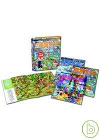 迷宮大王(4書套盒裝)-兒童智能訓練遊戲書