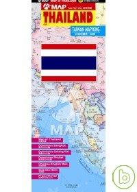 THAILAND泰國地圖