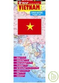 VIETNAM越南地圖