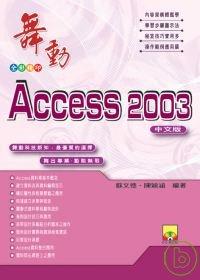 舞動Access 2003中文版 /