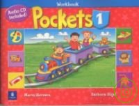 Pockets  1  Workbook with CD 1片