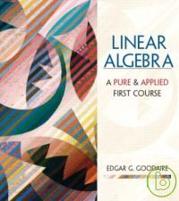 Linear algebra : a pure & applied first course