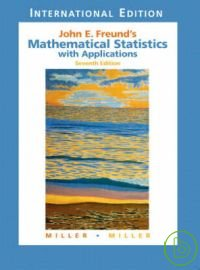 Mathematical Statistics with Applications 7/e