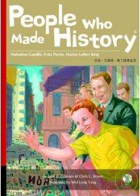 People who made history : Mahatma Gandhi, Evita Peron, Martin Luther King