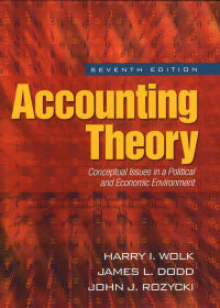 Accounting theory : conceptual issues in a political and economic environment