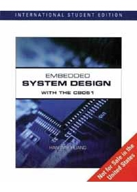 EMBEDDED SYSTEM DESIGN WITH THE C8051  ISE