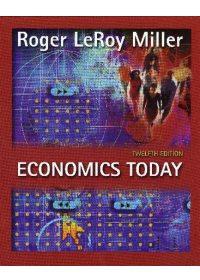 ECONOMICS TODAY 12 e