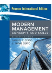 Modern Management: Concepts and Skills 11/e