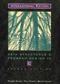 DATA STRUCTURES AND PROGRAM DESIGN IN C 2 E