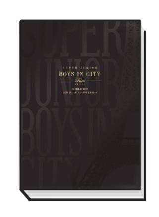 SUPER JUNIOR7週年巴黎戀人寫真書:Boys in City Season 4_