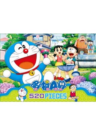 哆啦A夢 520片盒裝拼圖C