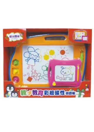 親子教育彩繪磁性遊戲板