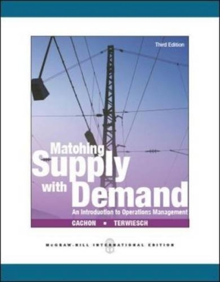 Matching Supply With Demand:An Introduction t