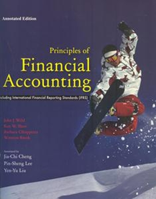 Principles of Financial Accounting IFRS (annotated edition)(第二十版)
