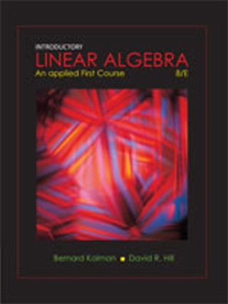 Introductory Linear Algebra:An Application-Oriented First Course(8版)