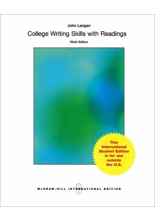College Writing Skills with Readings 9 e