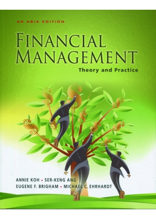 Financial Management Theory and Practice (An Asia Edition)