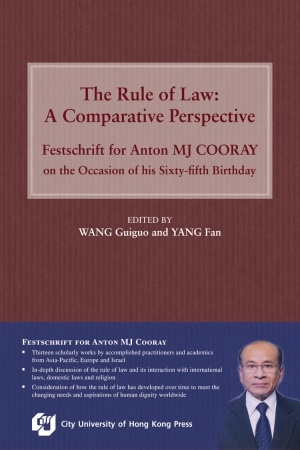 The Rule of Law:A Comparative Perspective — F