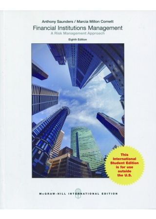 Financial Institutions Management: A Risk Management Approach 8/E