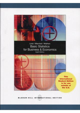 Basic Statistics for Business and Economics 8
