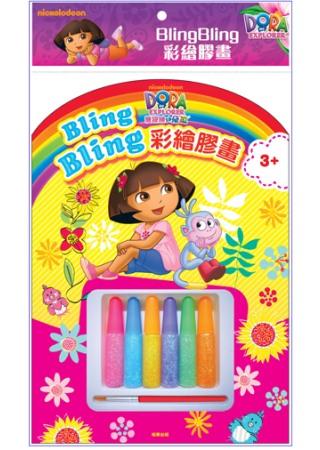 Bling Bling 彩繪膠畫 朵拉