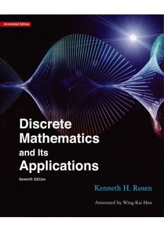 Discrete Mathematics and Its Applications 7/e 離散數學導讀本