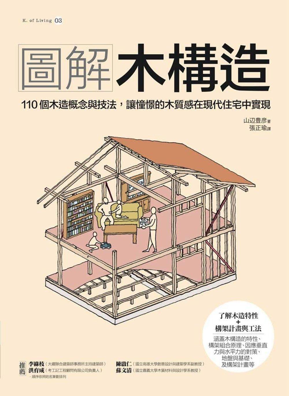 圖解木構造:110個木造概念與技法,讓憧憬的木 在 住宅中實現