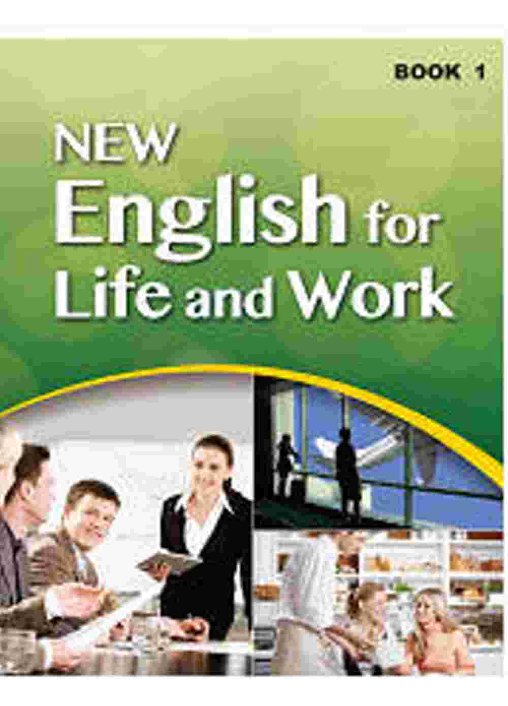 大專用書:NEW English for Life and Work Book 1(1書+1互動光碟)
