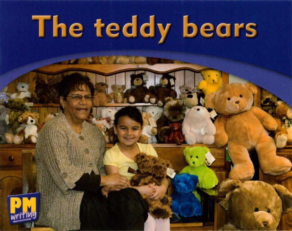 PM Writing Emergent Magenta 1 2 The Teddy Bea