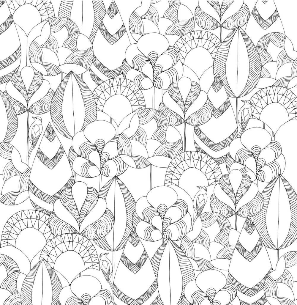 ◤博客來BOOKS◢ 暢銷書榜《推薦》忘憂森林:英國威爾斯大自然療癒著色畫【附贈12色木紋質感隨身彩色鉛筆組】