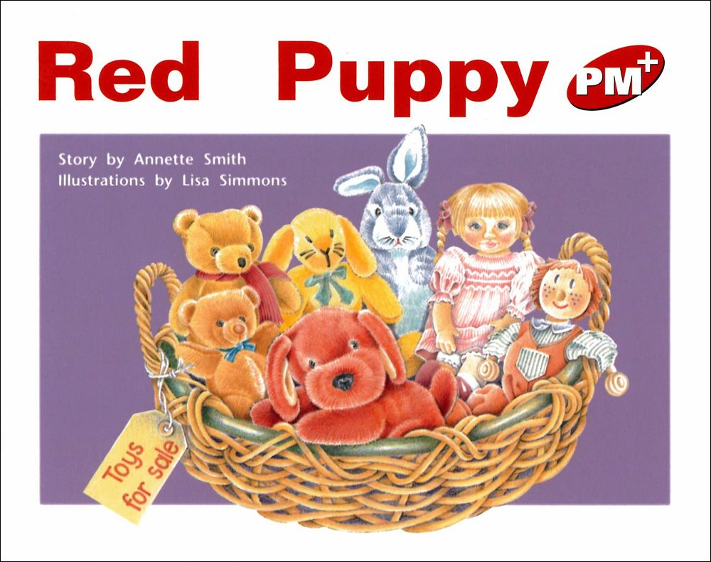PM Plus Red ^(4^) Red Puppy