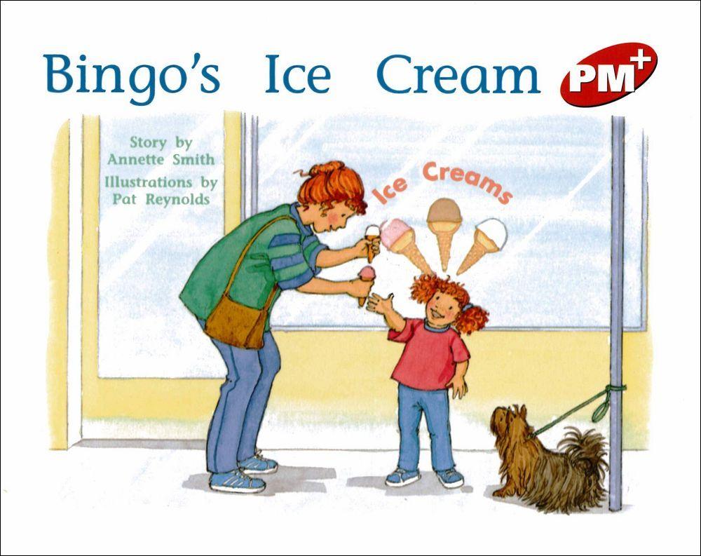 PM Plus Red  5  Bingo's Ice Cream