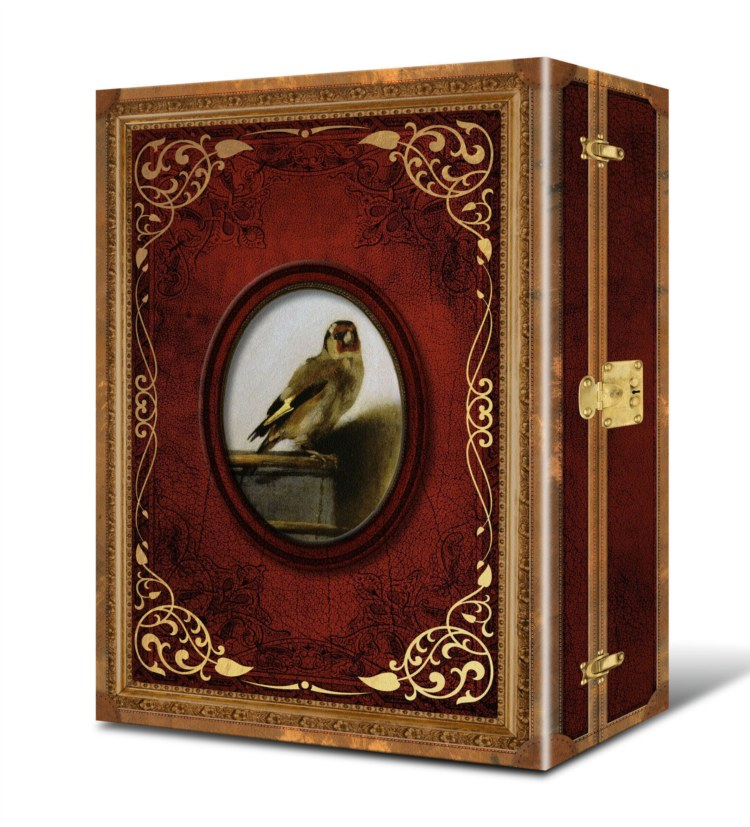 金翅雀(燙金木紋印刷藏書箱獨家限量典藏版)