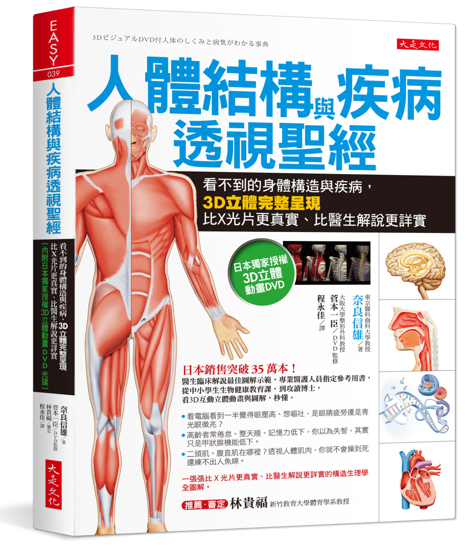 人體結構與疾病透...