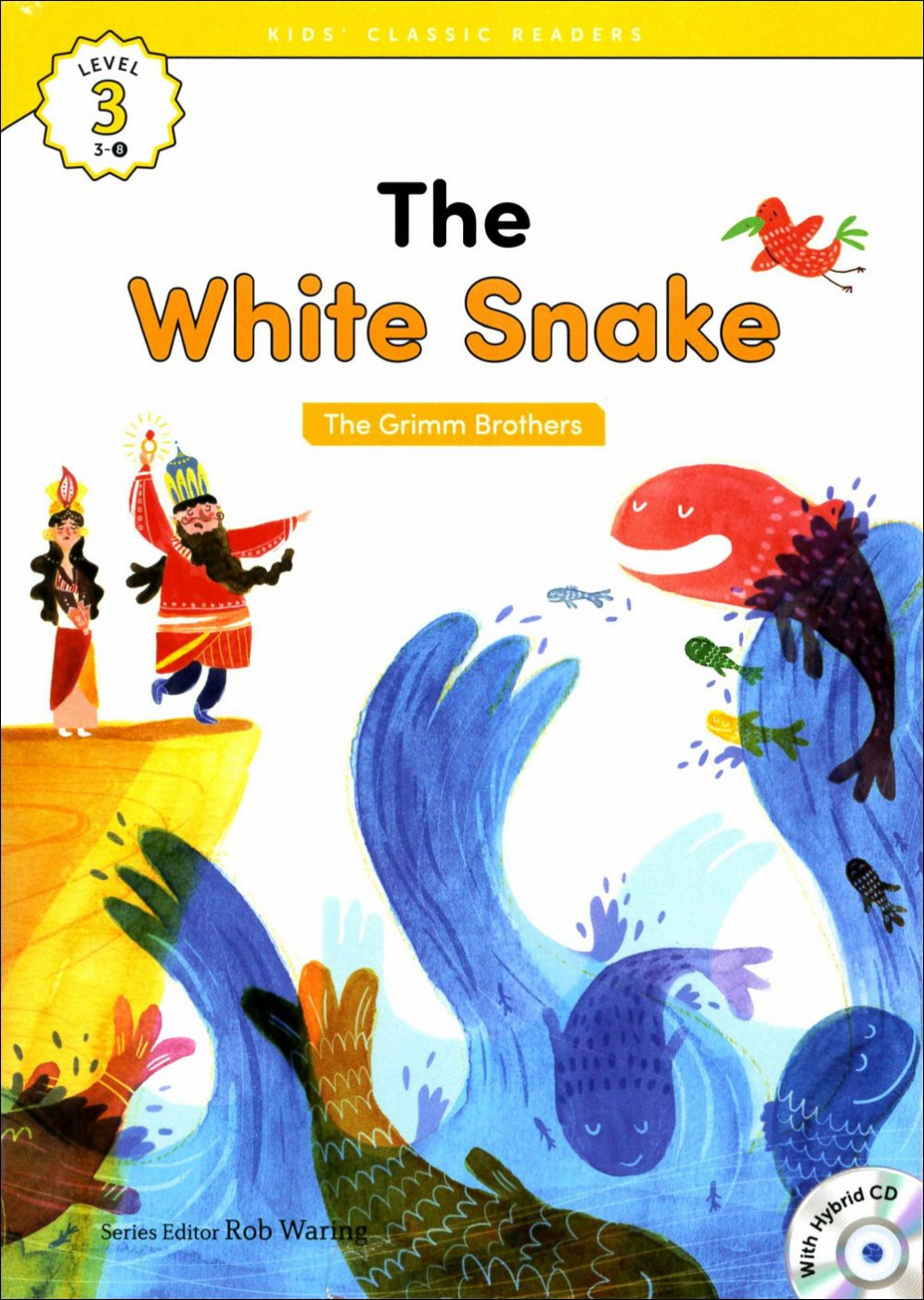 Kids' Classic Readers 3~8 The White Snake wit