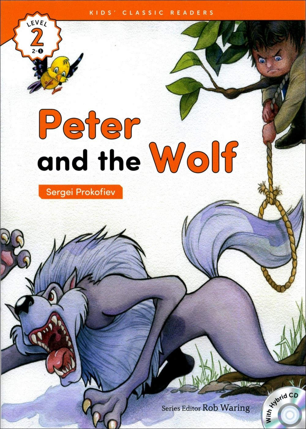 Kids' Classic Readers 2~1 Peter and the Wolf