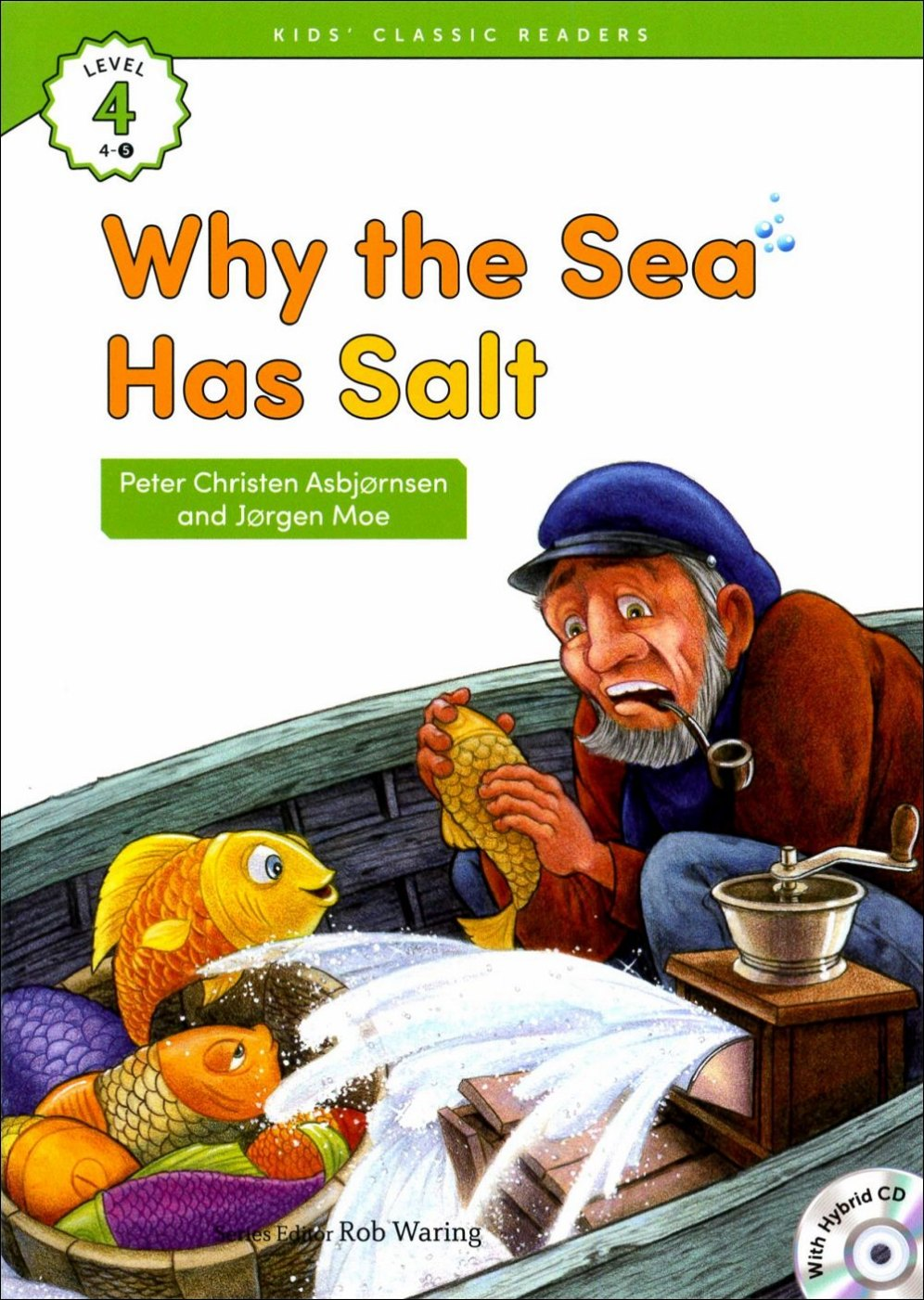 Kids' Classic Readers 4~5 Why the Sea Has Sal