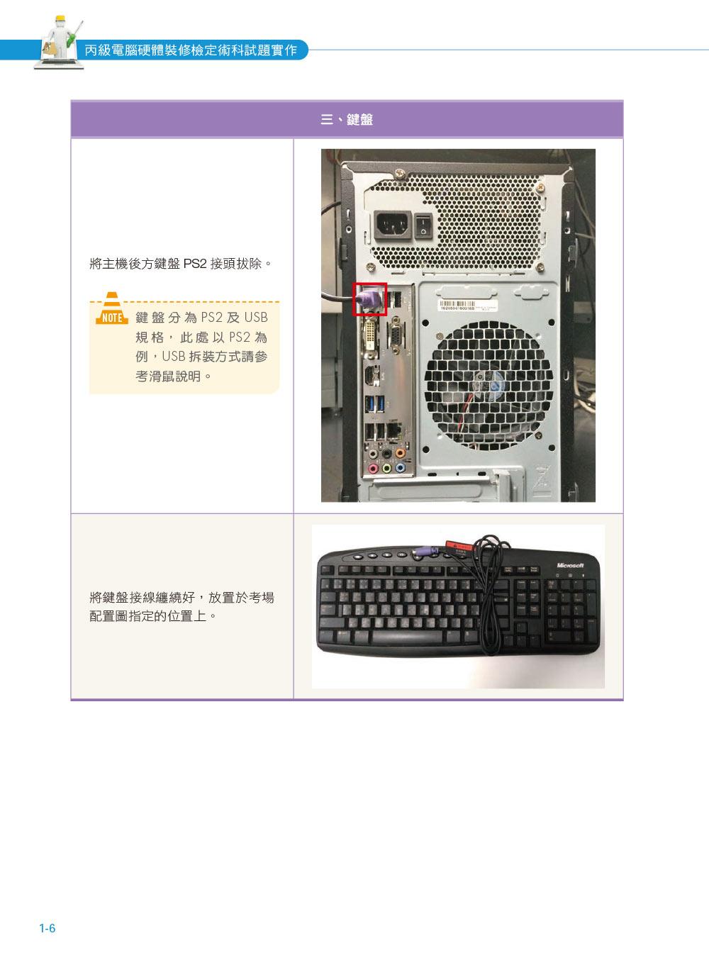 ◤博客來BOOKS◢ 暢銷書榜《推薦》丙級電腦硬體裝修檢定術科試題實作:Windows 7 + Fedora Core 20 + CentOS