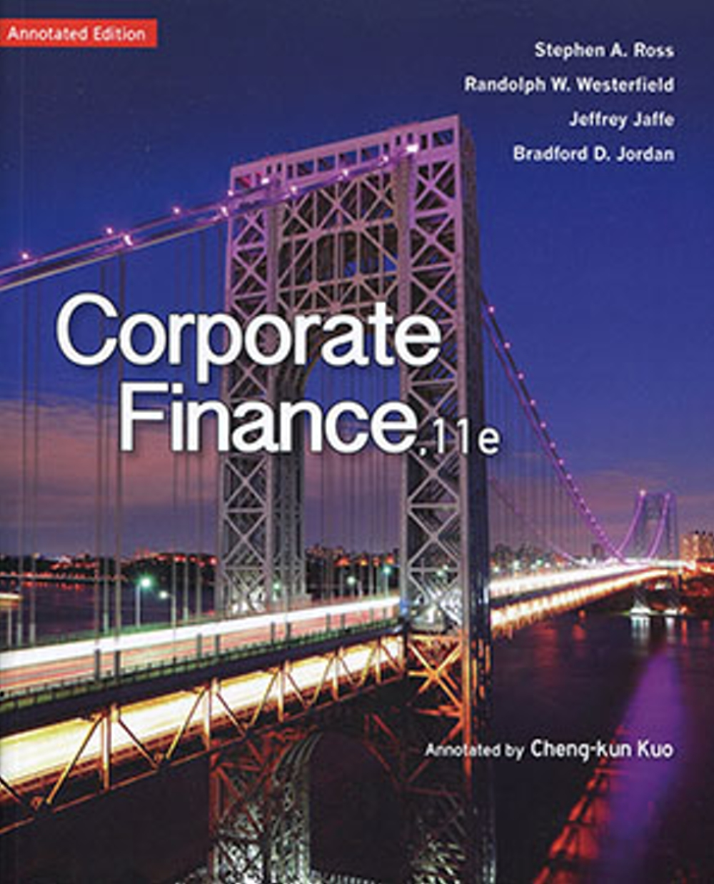Corporate Finance (Annotated Edition)(11版)